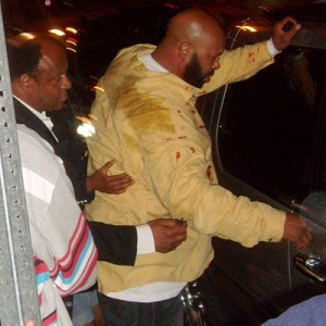 Suge Knight Knocked out in LA